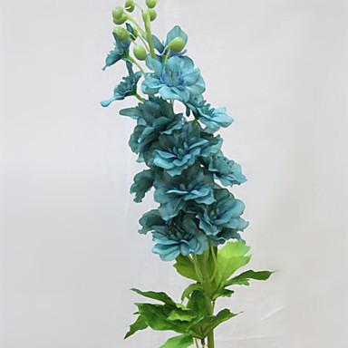2 분기 폴리에스터 데이지 꽃 델피니엄 테이블  플라워 인공 꽃