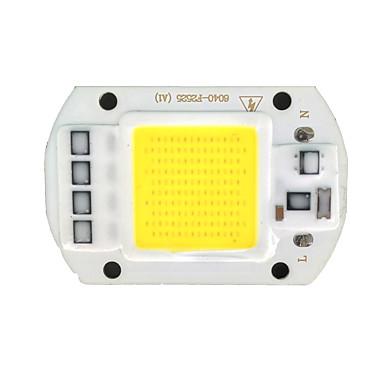 zdm® 1pc integrált led 220v világító izzó tartozék led chip alumínium 50w