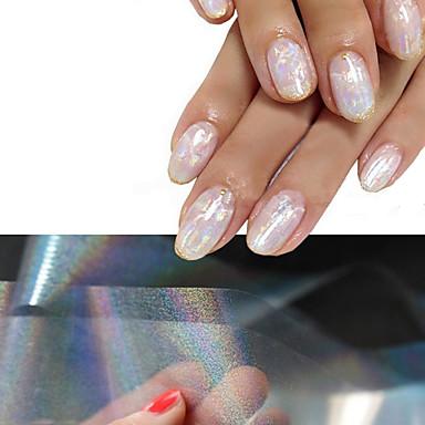 4 3D-s körömáblák Glitters Divat Napi Jó minőség