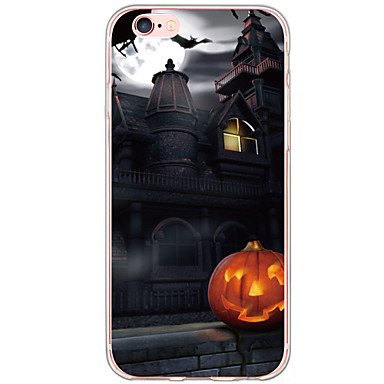 Mert iPhone 6 Plus tok Minta Case Hátlap Case Rajzfilmfigura Kemény TPU Apple iPhone 6s Plus/6 Plus / iPhone 6s/6 / iPhone SE/5s/5