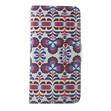 Kılıf Na Nokia Lumia 625 Nokia Lumia 630 Nokia Etui Nokii Etui na karty Z podpórką Pełne etui Kwiaty Twarde Skóra PU na