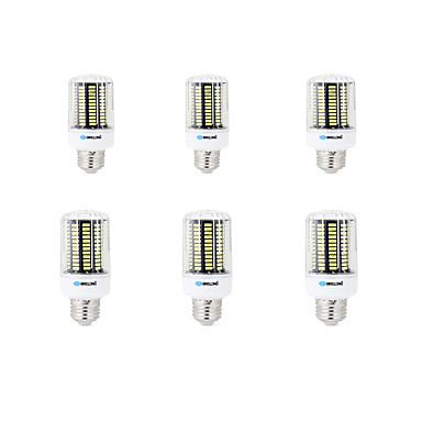 BRELONG® 8W 800 lm E14 E26/E27 B22 Żarówki LED kukurydza B 136 Diody lED SMD 5733 Dekoracyjna Ciepła biel Zimna biel AC 200-240V AC