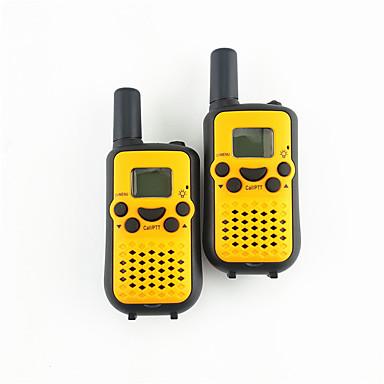 365 k-535 Walkie Talkie Hordozható Analog HANG Titkosítás CTCSS/CDCSS Hívás háttérvilágítás LCD Szkennelés <1.5KM <1.5KM 22 1W Kézi