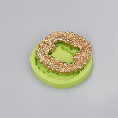 eladásösztönzés négyzet szilikon torta forma dekorációs szerszám kézzel készített szappan penész színe véletlenszerű