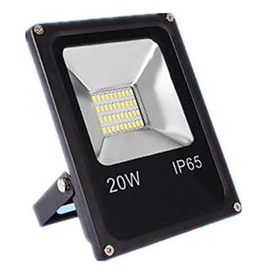 1pc 20w led fényvető gyep fények vízálló dekoratív kültéri világítás meleg fehér hideg fehér dc12-80v