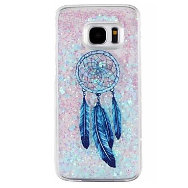 Mert Samsung Galaxy S7 Edge Folyékony Case Hátlap Case Álomvadász Kemény PC Samsung S7 edge / S7 / S6 edge / S6