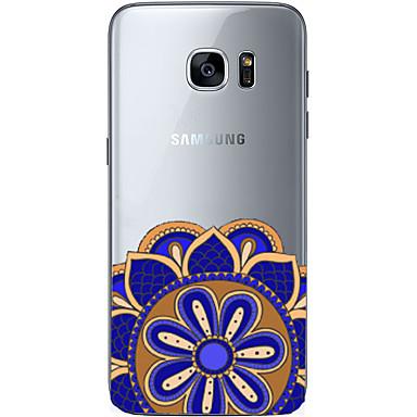 케이스 제품 Samsung Galaxy Samsung Galaxy S7 Edge 패턴 뒷면 커버 기하학 패턴 소프트 TPU 용 S7 edge S7 S6 edge plus S6 edge S6