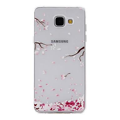 Mert Samsung Galaxy tok Minta Case Hátlap Case Virág Puha TPU Samsung A5(2016) / A3(2016)
