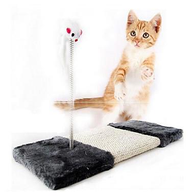고양이 장난감 반려동물 장난감 인터렉티브 스크래치 패드 마우스 사이잘