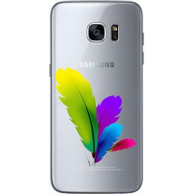 Kılıf Na Samsung Galaxy Samsung Galaxy S7 Edge Wzór Czarne etui Krajobraz Miękkie TPU na S7 edge S7 S6 edge plus S6 edge S6