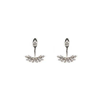 Női Függők Elöl is és hátul is stílusos fülbevalók Luxus Vintage Bohém Divat Szikla Strassz Hamis gyémánt Ötvözet Geometric Shape Ékszerek