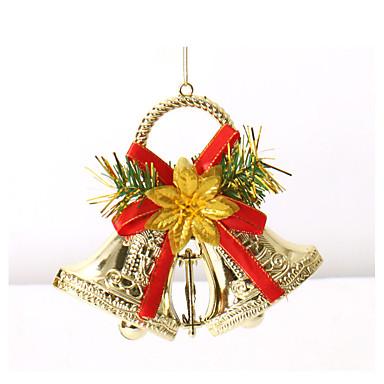 홈 축제 용품 장식 매달려 두 징 글 벨 크리스마스 트리 장식품 화환 화환 메리 크리스마스 벨