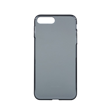 Kompatibilitás tokok Ütésálló Ultra-vékeny Áttetsző Other Teljes védelem Case Tömör szín Kemény PC mert Apple iPhone 7 Plus iPhone 7