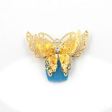 2 pcs Biżuteria do paznokci Błyskotki / Metaliczny / Ślub Codzienny Nail Art Design