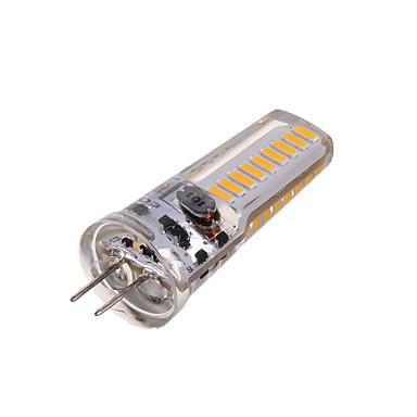 2800-3200/6000-6500 lm G4 LED betűzős izzók T 18 led SMD 4014 Dekoratív Meleg fehér Hideg fehér