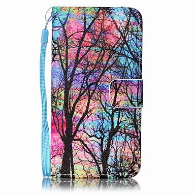 Kılıf Na Samsung Galaxy A5(2016) A3(2016) Etui na karty Portfel Pełne etui Drzewo Twarde Skóra PU na A5(2016) A3(2016)