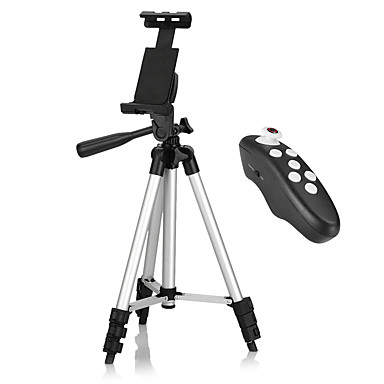 Tripod Bluetooth with Remote Control iPhone Android Smartphone Tablet iPad, Use Video Recording, Pictures, or Live Streaming