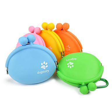 L Pisici Câine Boluri & Sticle de Apă Animale de Companie  Castroane & Hrănirea Portabil Portocaliu Galben Verde Albastru Roz