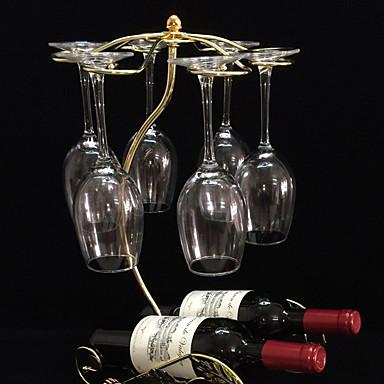 와인 선반 주철,27*19*44CM 포도주 부속품
