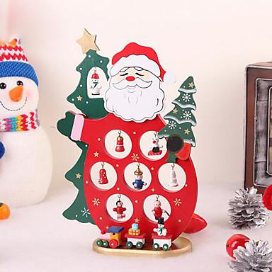 크리스마스 나무 장식 인형 산타 클로스 가구 기사는 테이블 데스크 장난감 크리스마스 장식으로 만들어줍니다 장식