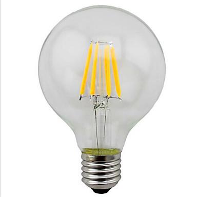 G95 4w 280lm led energiatakarékos retro dekoratív utánzás volfrám lámpa 1db