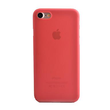 voordelige iPhone-hoesjes-hoesje Voor Apple iPhone 8 Plus / iPhone 8 / iPhone 7 Plus Mat / Doorzichtig Achterkant Effen Hard PC