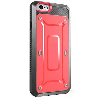 케이스 커버 Apple 용 iPhone X iPhone 8 iPhone 7 iPhone 7 Plus iPhone 6 풀 바디 물 / 먼지 / 충격 증명 한 색상 하드 PC iPhone X iPhone 8 Plus iPhone 8 iPhone 7
