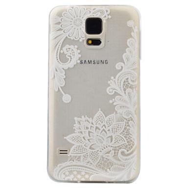 케이스 제품 Samsung Galaxy S7 edge S7 패턴 뒷면 커버 꽃장식 소프트 TPU 용 S7 edge S7 S6 edge S6 S5