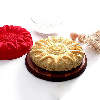szilikon napraforgó torta forma -May tizenötödik