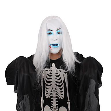 (Minta véletlenszerű) 1db halloween maszk fesztivál dísztárgyak