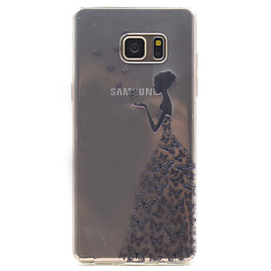 삼성 갤럭시 참고 5 아름다움 패턴 높은 투자율 tpu 소재 전화 케이스에 대 한