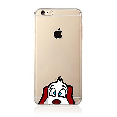 Case Kompatibilitás Apple iPhone X iPhone 8 Plus iPhone 7 iPhone 6 iPhone 5 tok Áttetsző Minta Hátlap Kutya Puha TPU mert iPhone X iPhone