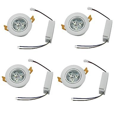 YouOKLight 450lm 3 LED Dekoratív LED mélysugárzók Meleg fehér Hideg fehér AC 100-240VV