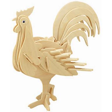 나무 퍼즐 닭 전문가 수준 활기 없는 1pcs 아동용 남아 선물