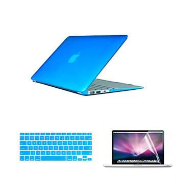 2016 best verkopende pvc macbook tas met toetsenbord deksel en het scherm flim voor MacBook Pro 13.3 inch