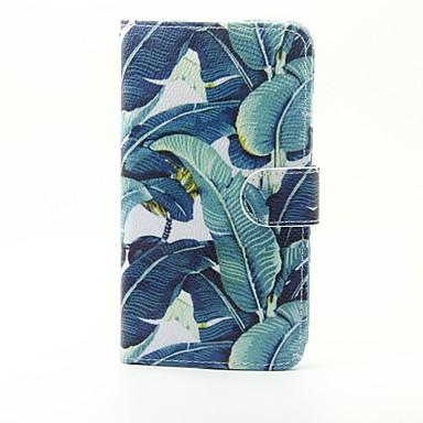 lg g5 바나나 잎 무늬 pu 가죽 전신 케이스, 스탠드 및 lg g5 용 카드 슬롯