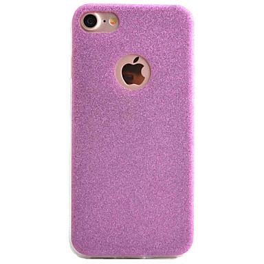 용 아이폰7케이스 / 아이폰7플러스 케이스 / 아이폰6케이스 울트라 씬 케이스 뒷면 커버 케이스 글리터 샤인 소프트 TPU Apple 아이폰 7 플러스 / 아이폰 (7) / iPhone 6s Plus/6 Plus / iPhone 6s/6