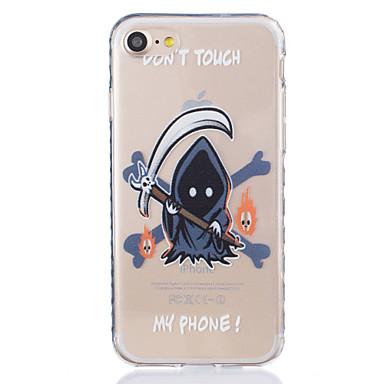 Mert iPhone 7 tok / iPhone 6 tok / iPhone 5 tok Átlátszó / Minta Case Hátlap Case Rajzfilmfigura Puha TPU AppleiPhone 7 Plus / iPhone 7 /
