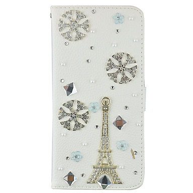 Bling Crystal Diamond PU Leather Wallet Case Card Slots and Magnetic Flip For Samsung Galaxy S7 S7 edge S6 edge Plus S5 S4