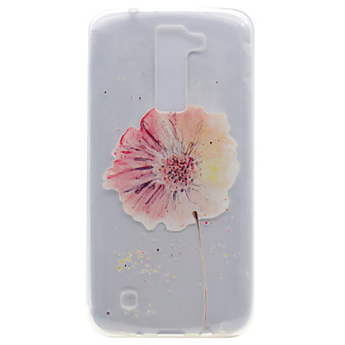 Için Şeffaf Temalı Pouzdro Arka Kılıf Pouzdro Çiçek Yumuşak TPU için LG LG K10 LG K8 LG K7 LG Nexus 5X LG X Power