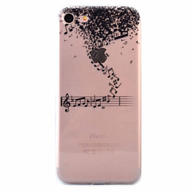 Case Kompatibilitás Apple iPhone 7 iPhone 6 iPhone 5 tok Ultra-vékeny Minta Hátlap Rajzfilm Puha TPU mert iPhone 7 Plus iPhone 7 iPhone