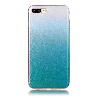 용 아이폰7케이스 / 아이폰7플러스 케이스 패턴 케이스 뒷면 커버 케이스 컬러 그라데이션 소프트 TPU Apple 아이폰 7 플러스 / 아이폰 (7)