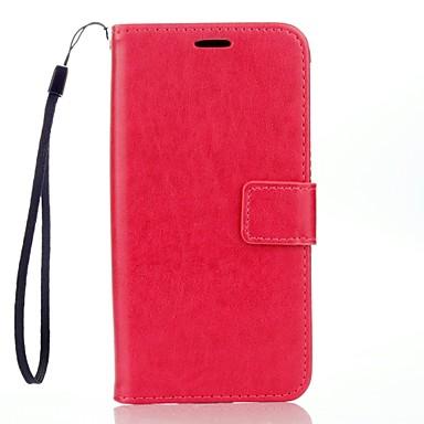 egyszínű bőr pénztárca lg k7 k10 g3 g4 tokokhoz / borítókhoz lg