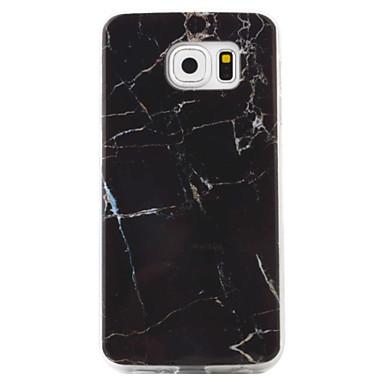 Case Kompatibilitás Samsung Galaxy S7 edge S7 Minta Hátlap Márvány Puha TPU mert S7 edge S7 S6 edge S6 S5 S4 S3