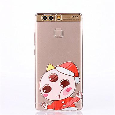 케이스 제품 화웨이 P9 화웨이 P9 라이트 화웨이 P8 Huawei 화웨이 P9 플러스 화웨이 P8 라이트 패턴 뒷면 커버 카툰 소프트 TPU 용 Huawei P9 Plus Huawei P9 Lite Huawei P9 Huawei P8 Lite