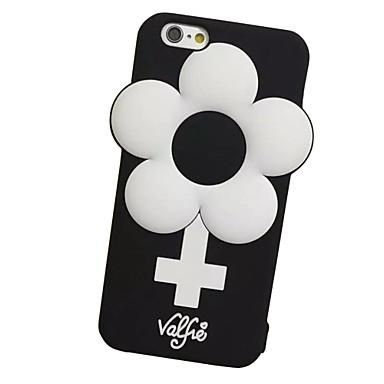 Mert iPhone 7 tok / iPhone 7 Plus tok / iPhone 6 tok Ütésálló Case Teljes védelem Case Virág Puha Szilikon AppleiPhone 7 Plus / iPhone 7