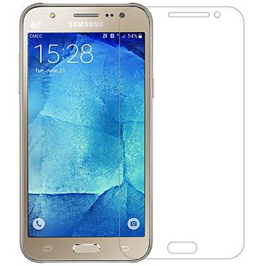 화면 보호기 Samsung Galaxy 용 J5 (2016) PET 화면 보호 필름 지문 방지