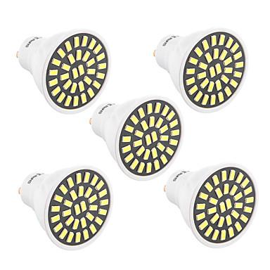 YWXLIGHT® 5pcs 480lm GU10 Żarówki punktowe LED T 32 Koraliki LED SMD 5733 Dekoracyjna Ciepła biel Zimna biel 85-265V