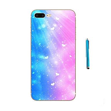 용 아이폰7케이스 / 아이폰6케이스 / 아이폰5케이스 패턴 케이스 뒷면 커버 케이스 풍경 소프트 TPU Apple 아이폰 7 플러스 / 아이폰 (7) / iPhone 6s Plus/6 Plus / iPhone 6s/6 / iPhone SE/5s/5
