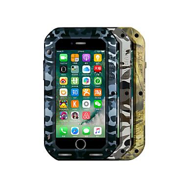 용 물 / 먼지 / 충격 증명 케이스 풀 바디 케이스 캐모플라지 색상 하드 메탈 Apple 아이폰 7 플러스 / 아이폰 (7)